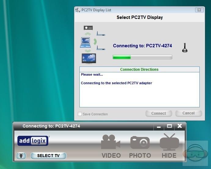 Pc2tv virtual display