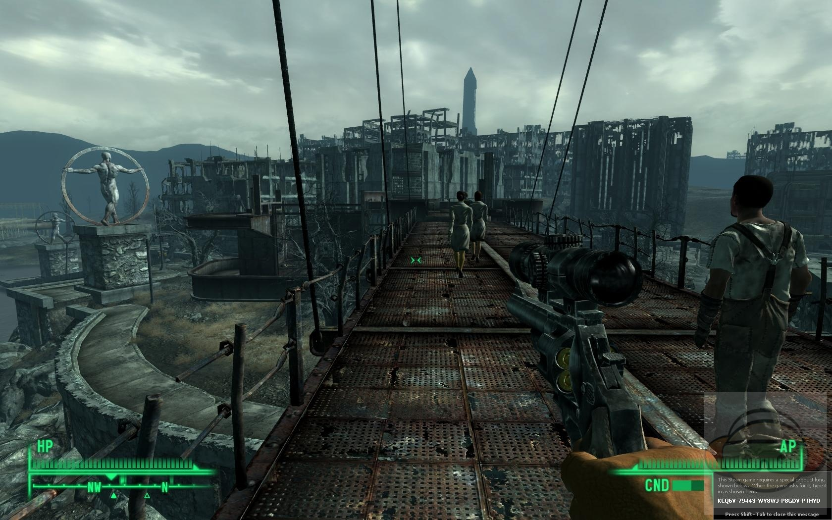 how to keep playing fallout 3 after ending