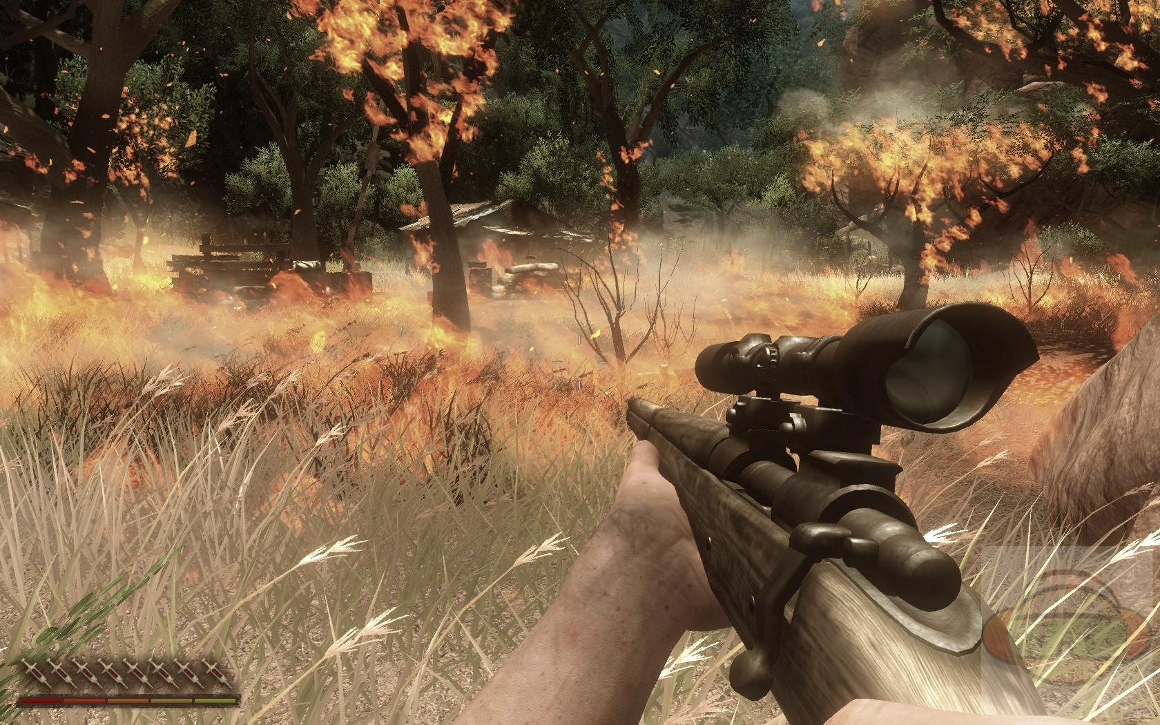 far cry 2 gameplay ending a relationship