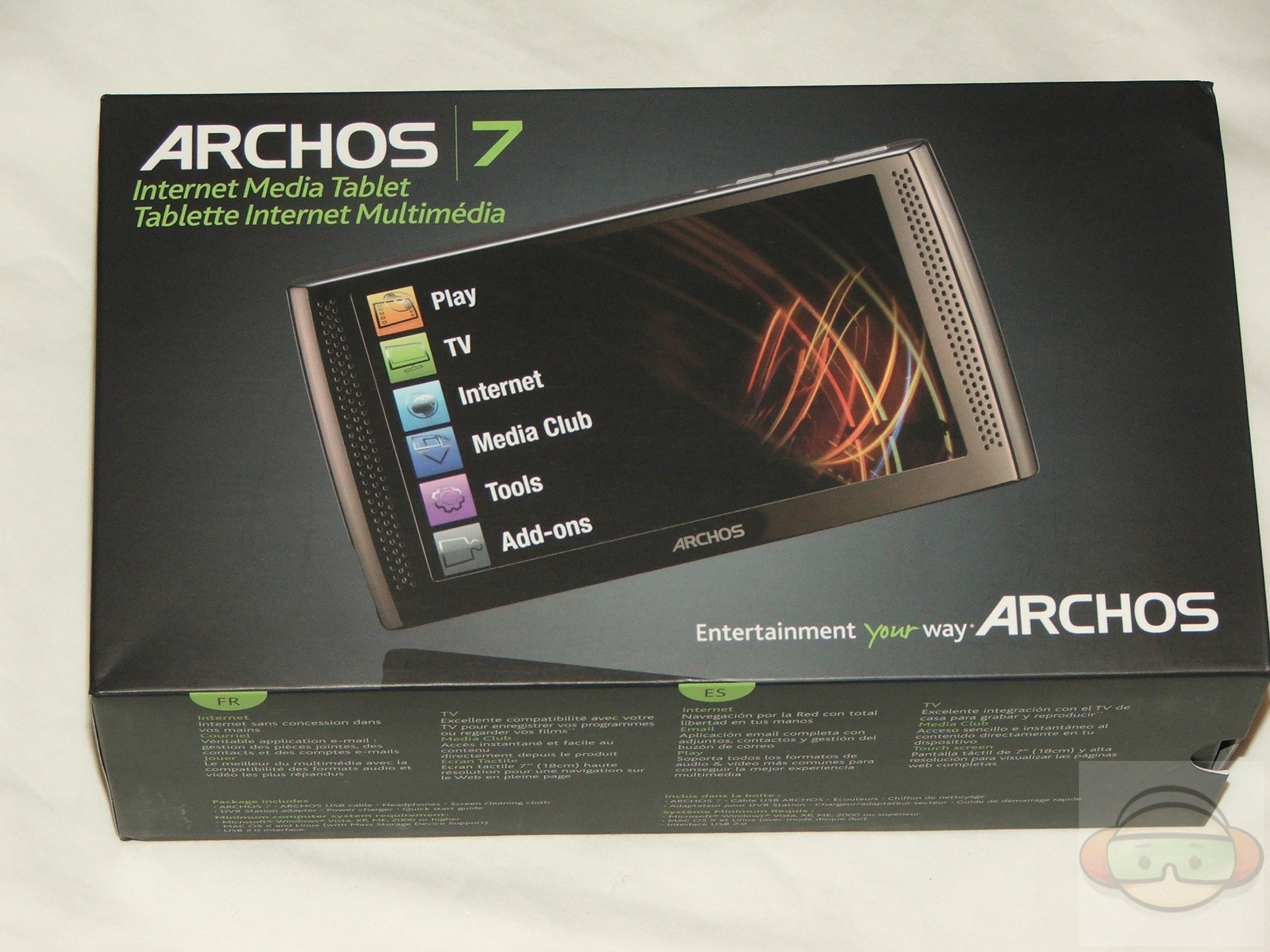 About a month or so ago I looked at the Archos 5 and DVR station, a couple  weeks ago Archos emailed me and asked if I wanted to take a look at their  ...