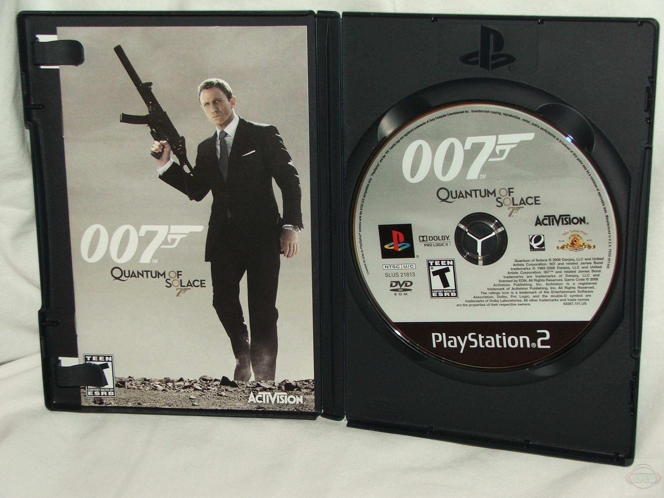 James Bond 007 Ein Quantum Trost  playstationcom