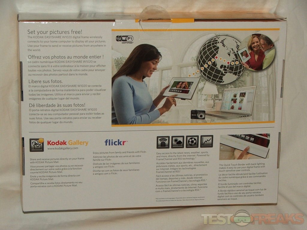 EASYSHARE W1020 Wireless Digital Frame with Home Decor Kit | Technogog
