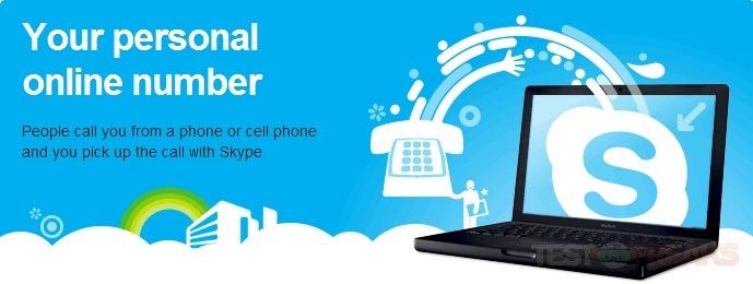 how to receive a skype call