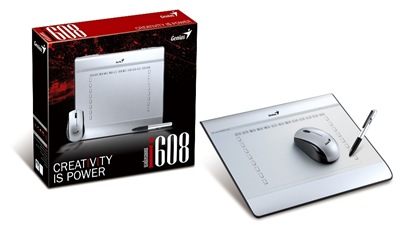 MousePen i608_product w box (by Genius)