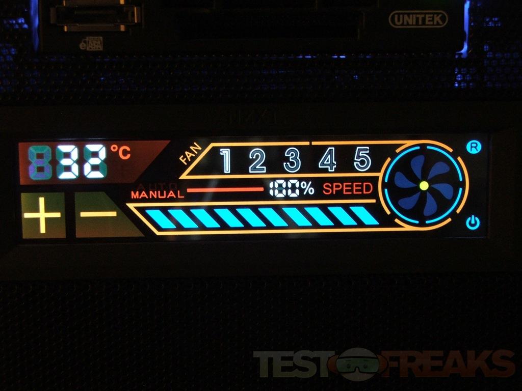 Nzxt Sentry 2 5 25 Quot Touch Screen Fan Controller Technogog