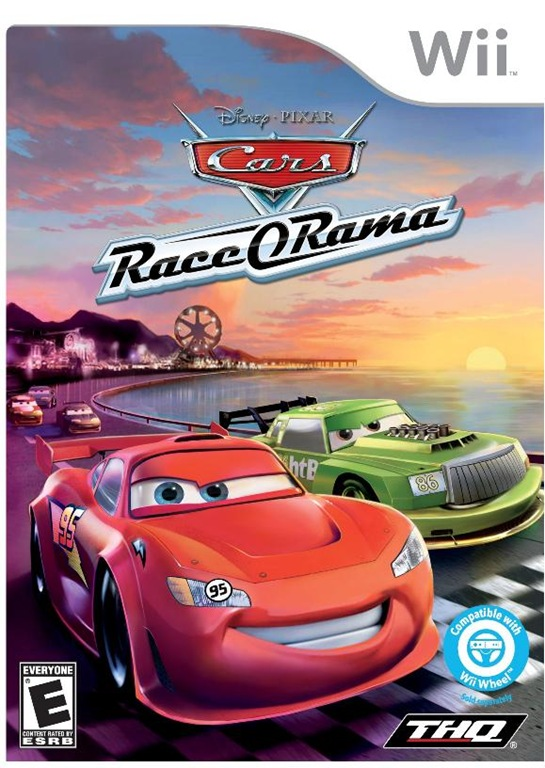 thq goes full throttle with the launch of disney pixar s cars race o