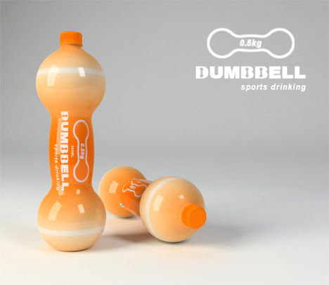 Sports Drink Dumbbells