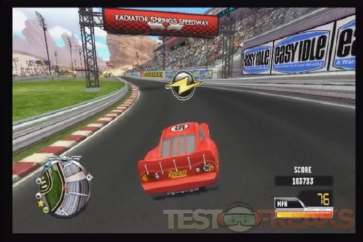 Cars Race O Rama Controls