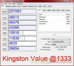 crystalmark king value 1333