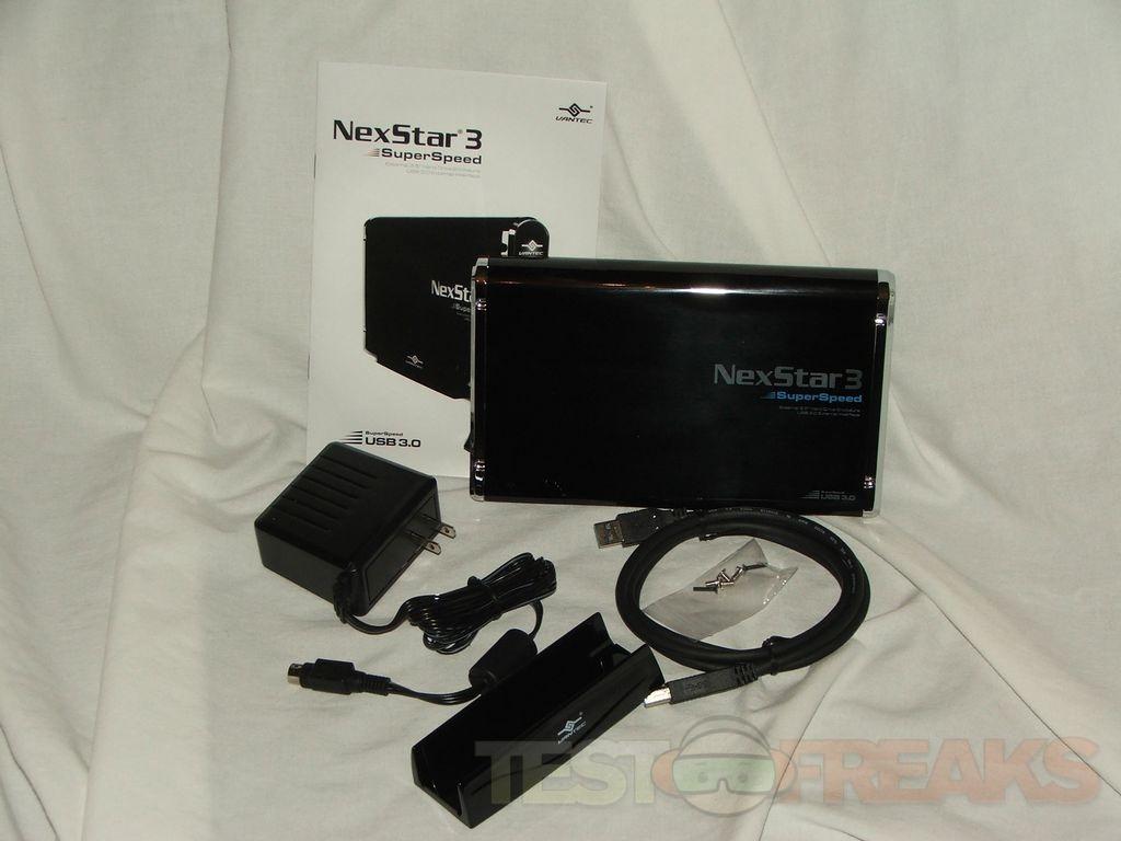 how to use nexstar 3 external hard drive