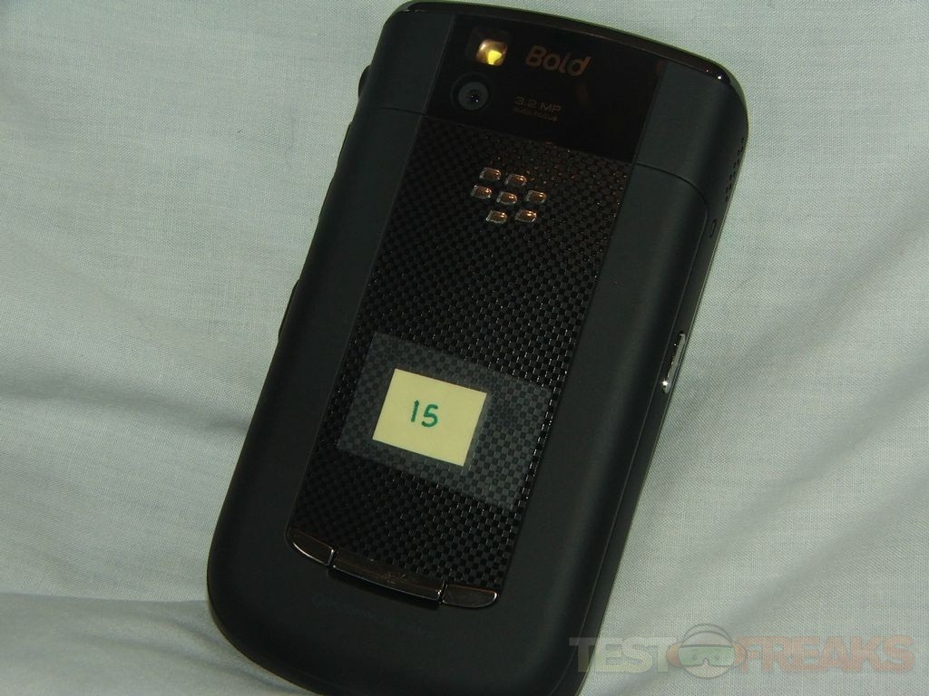 Review of blackberry bold 9650 smartphone technogog the back comes off easily with a slide button on the cover under it youll find the battery 2gb microsd card and the sim card reheart Choice Image