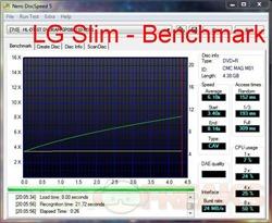 discspeed lg slim  benchmark