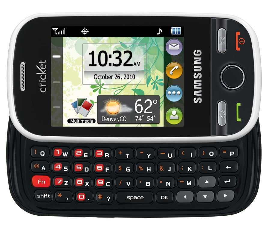 Cricket Launches Affordable Samsung Messager Touch