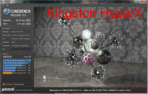cinebench 115 kingston