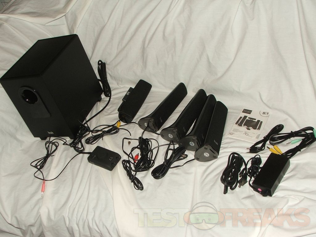Review Of Hercules Xps 5 1 70 Slim 5 1 Multimedia Speaker