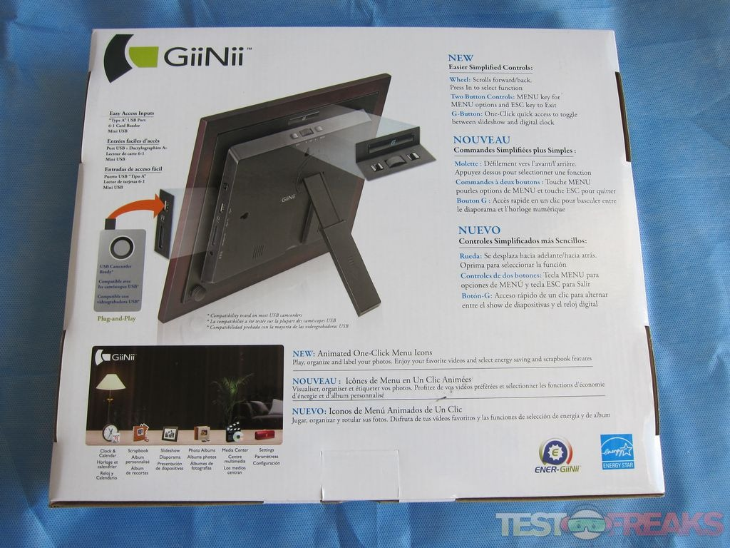 Review of GiiNii 8\
