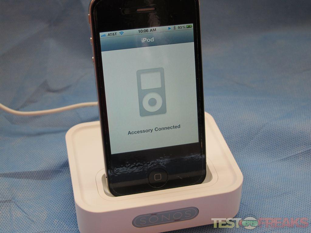 review of sonos wireless dock technogog. Black Bedroom Furniture Sets. Home Design Ideas