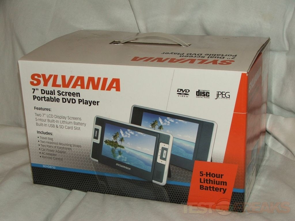 The Sylvania Dual Screen DVD Player Is A Nice Idea But Just Bit Poorly Designed In That I And Think Most People Out There Will Be Under Assumption