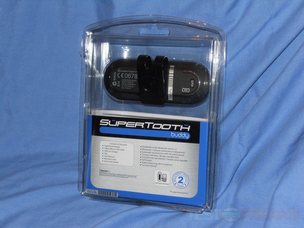 supertooth buddy bluetooth visor car kit instructions