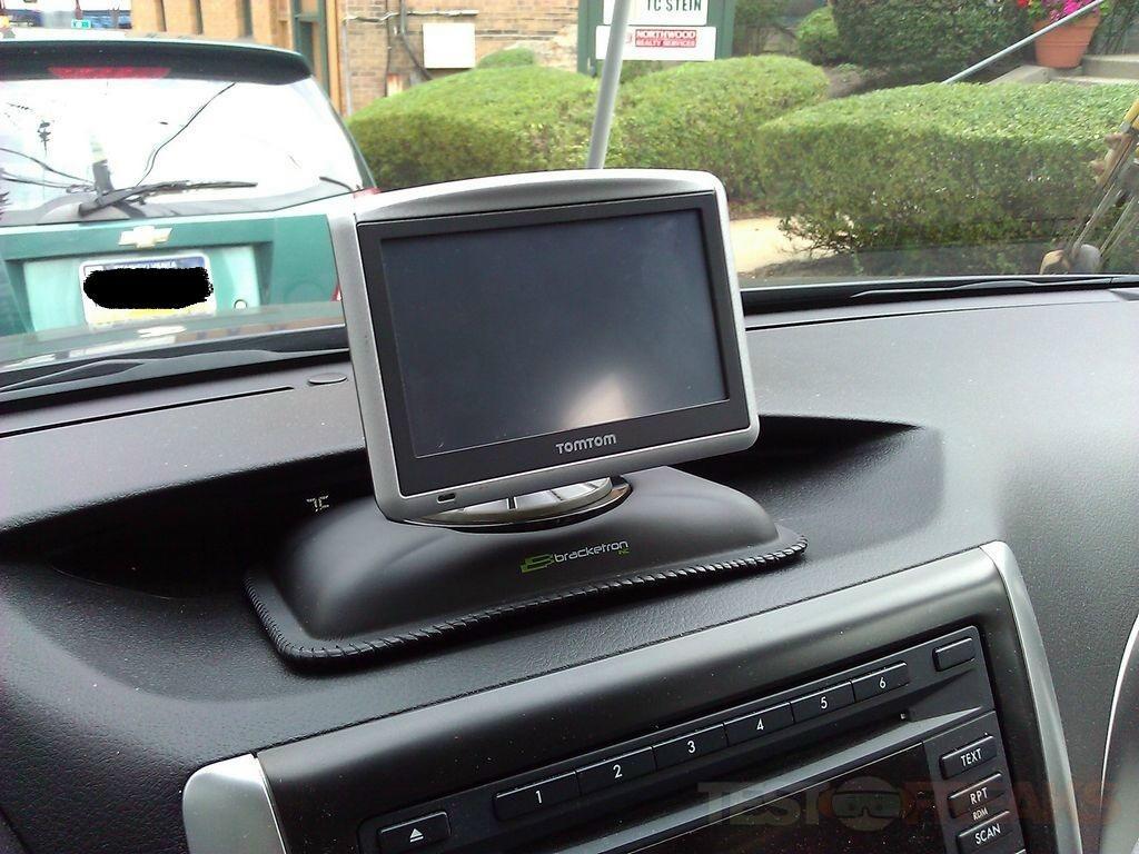 Review Of Bracketron Nav Mat Iii Portable Gps Dash Mount