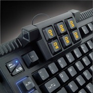 Macro Keys Detailed Shot Levetron Keyboard by AZiO