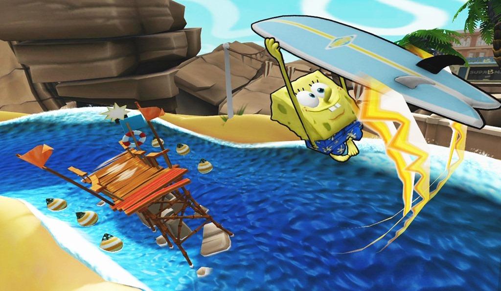 Spongebob Comes To Kinect With Spongebob S Surf Amp Skate