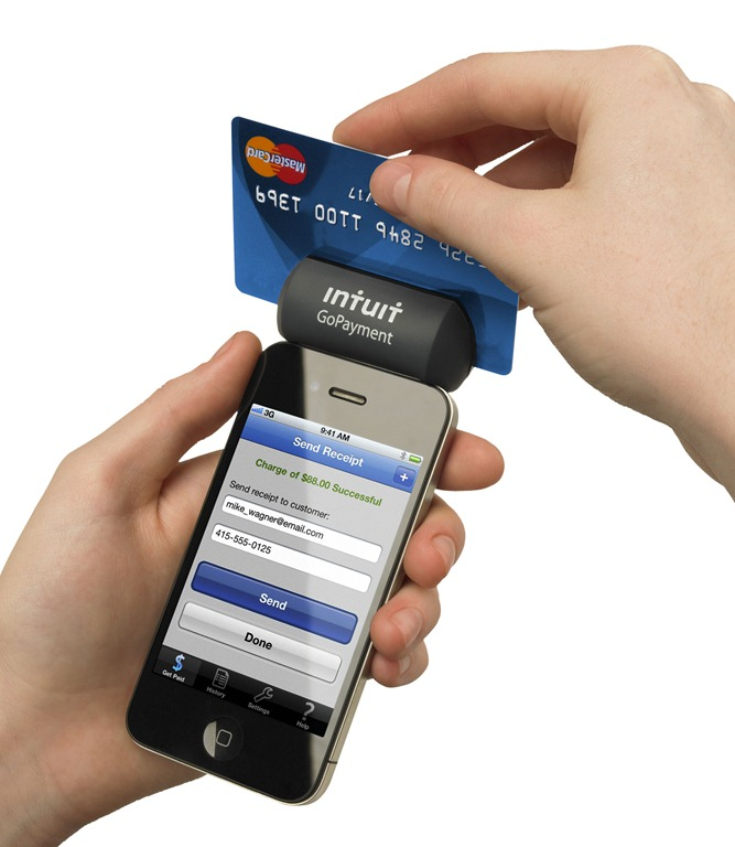 GoPayment Credit Card Reader Now Available Now for Free   Technogog