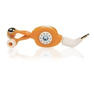 Memorex IE300 Easy Listening In-Ear Earphones in Orange High Res Photo