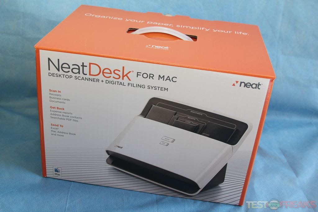Review of neatdesk for mac technogog the scanner is packed up protected by recyclable cardboard inserts inside the package we find the neat adf scanner the neatworks for mac install cd colourmoves
