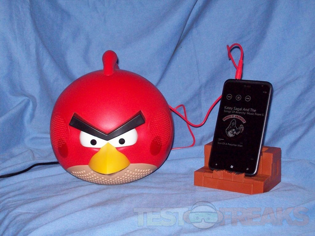 Review Of Gear4 Angry Birds Speaker Red Bird Technogog
