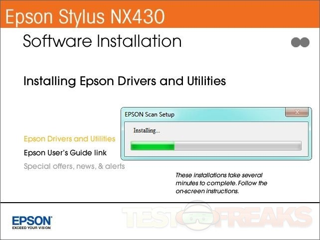 Epson Stylus NX430 Driver Software Download and Setup