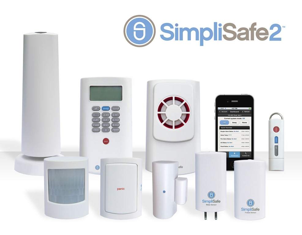 Simplisafe announces the simplisafe2 wireless home for Look security systems