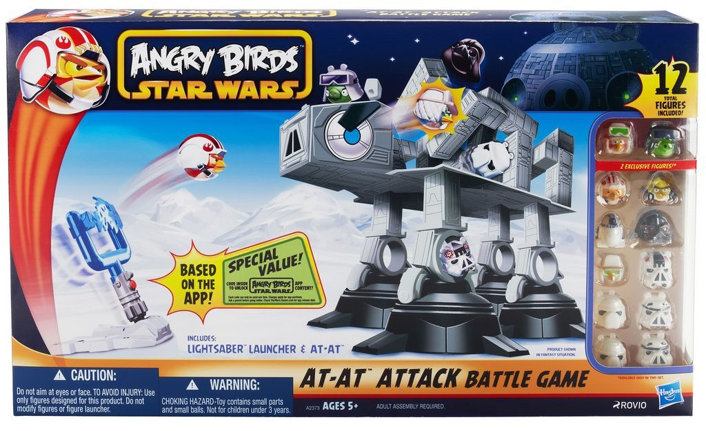 Star Wars Toy Game : Toys 'r us has angry birds star wars in stock now