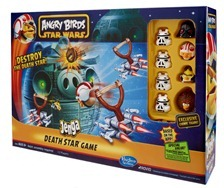 Hasbro Angry Birds Star Wars Jenga Death Star Package
