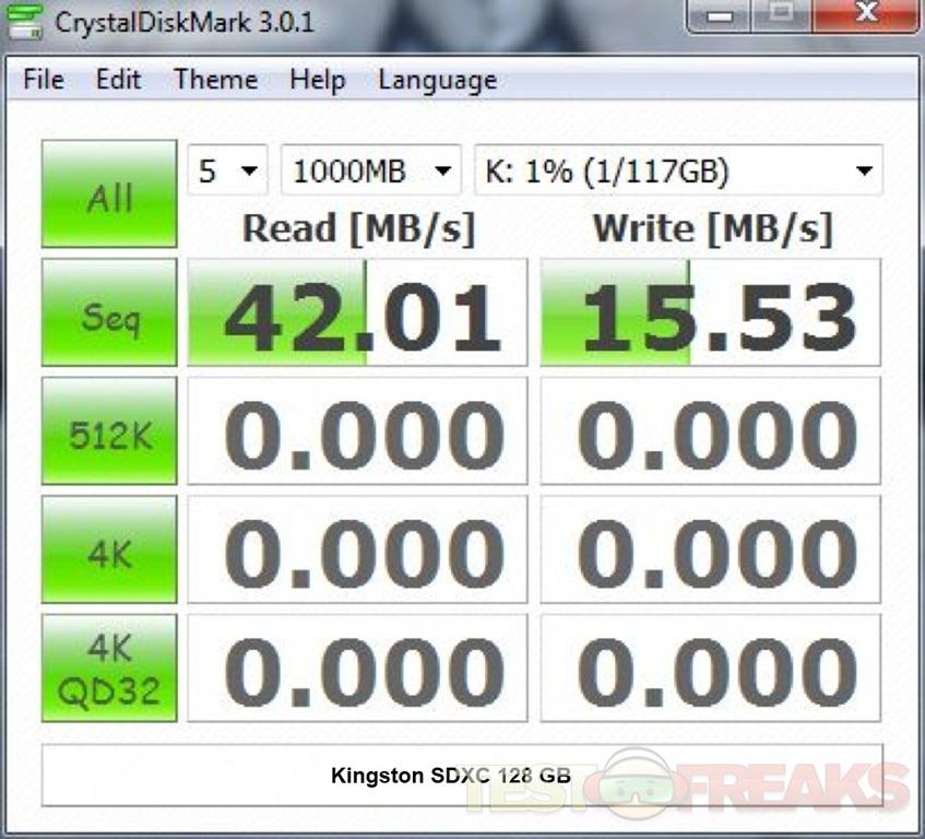 Review of Kingston 128gb Class 10 SDHC/SDXC Card | Technogog