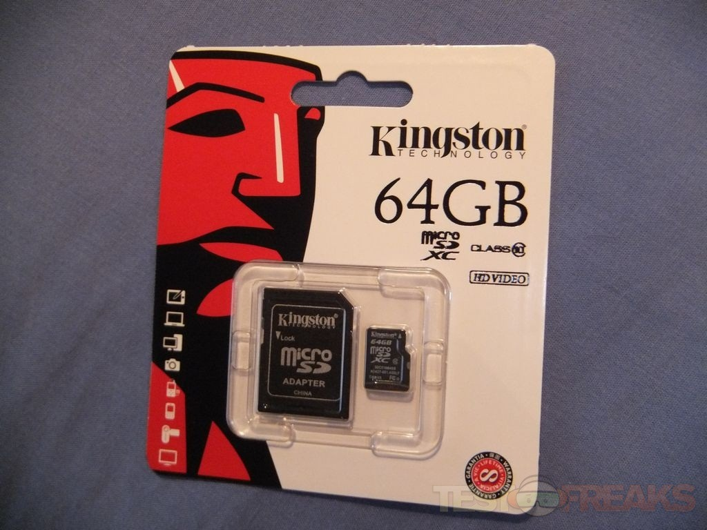 kingston digital class 10 micro sd card with adapter 64gb power the Android