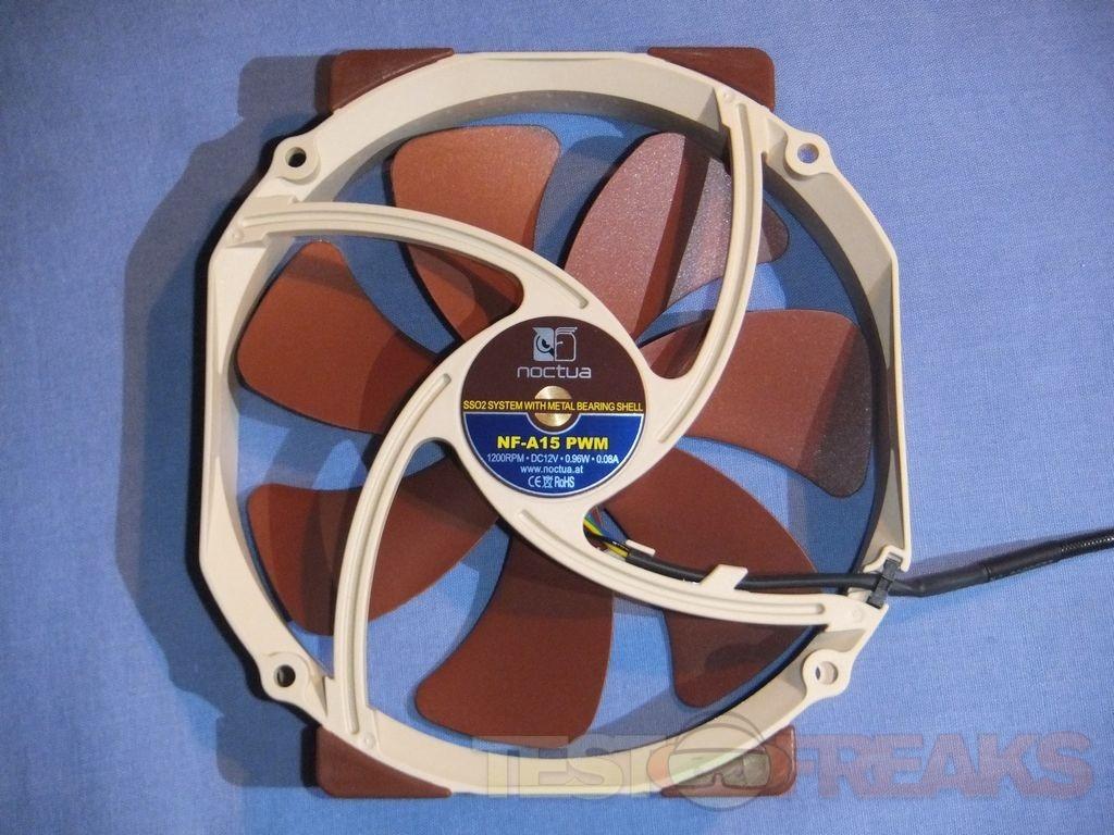 Review Of Noctua Nf A15 Pwm 150mm Cooling Fan Technogog
