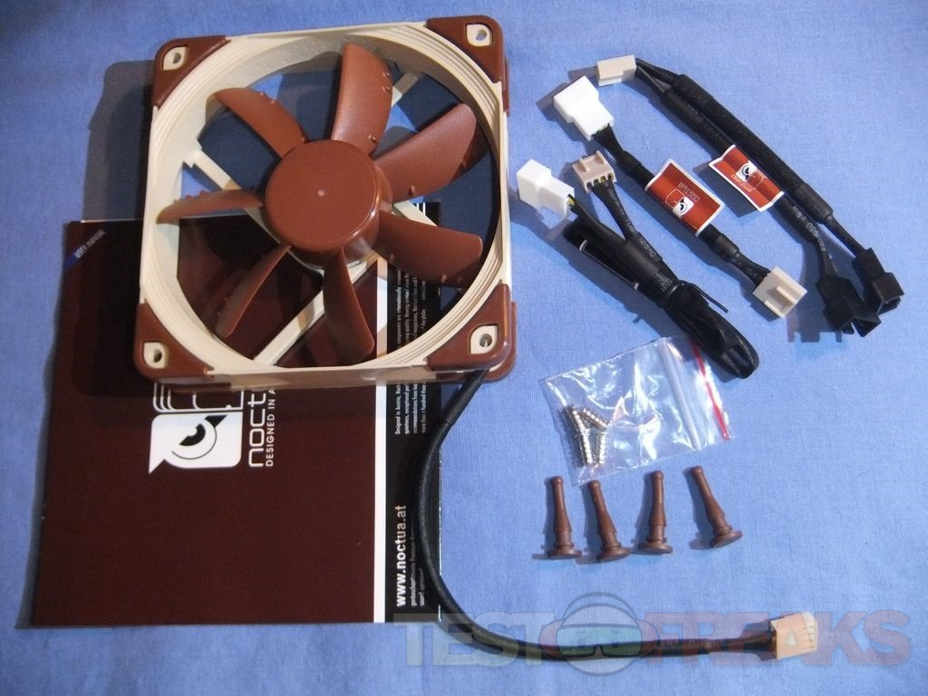 Review Of Noctua Nf S12a Pwm 120mm Cooling Fan Technogog
