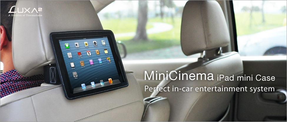 Thermaltake Launches LUXA2 MiniCinema iPad Mini Case | Technogog