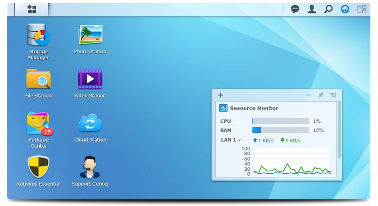 synology disk station manager