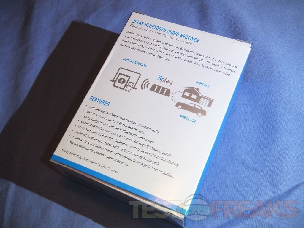 Review Of Grace Digital 3play Bluetooth Audio Receiver Technogog Usb To Jack Wiring Inside The Box Youll Find A Microusb Cable 35mm Double Ended Itself Ac Adapter And User Guide