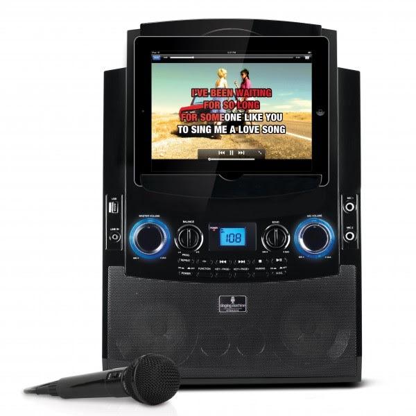 tablet karaoke machine