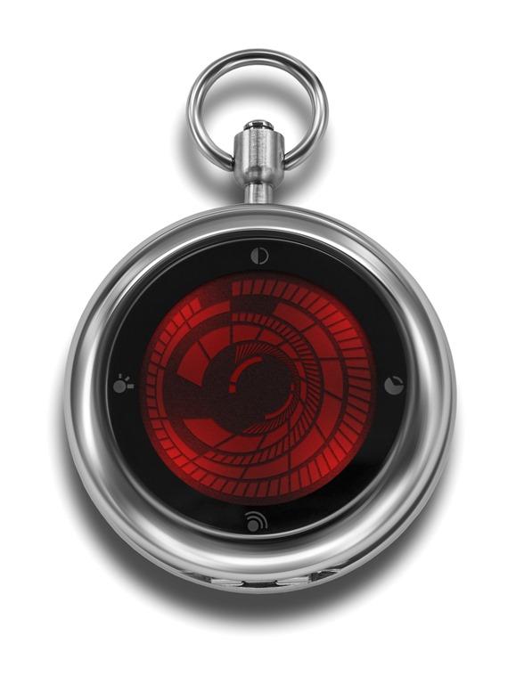 Tokyoflash japan announces kisai vortex pocket watch technogog for Vortix watches