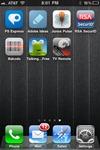 iPhone remote app-screen