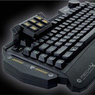 Partial Left Angle Shot Levetron Keyboard by AZiO
