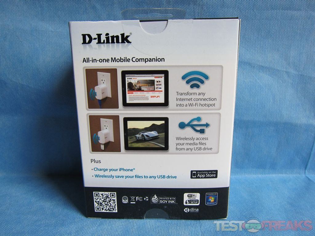 Review Of D Link Dir 505 All In One Mobile Companion Technogog How To Hook Up Netgear Wireless Router Dsl Modem Apps Directories Opening The Box We Find Along With An Ethernet Cable Wi Fi Configuration Note And Quick Install Guide