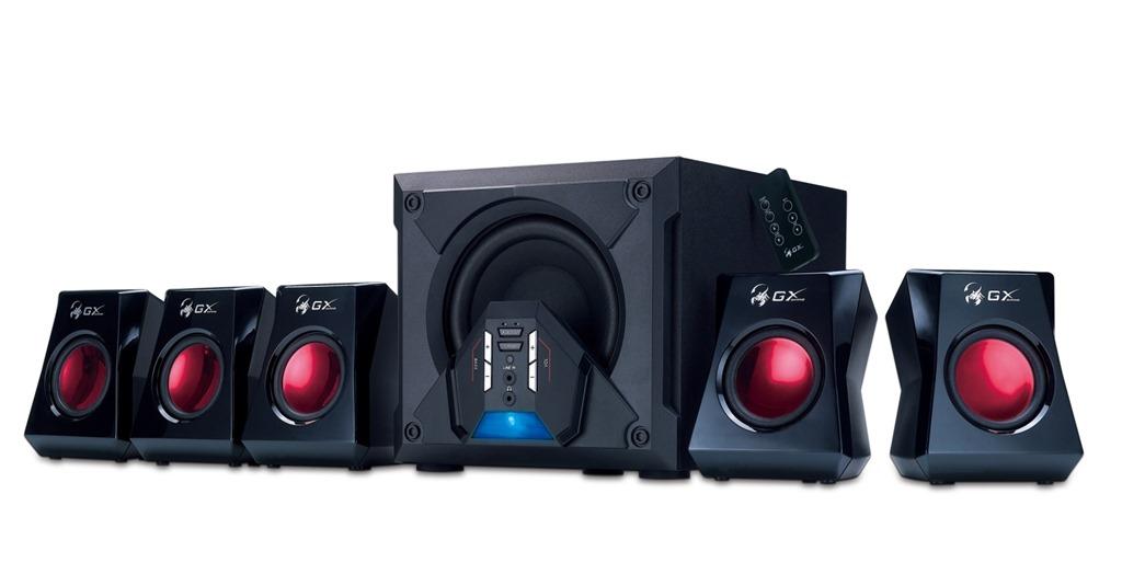 Genius Intros Gx Gaming Sw G5 1 3500 Surround Speaker